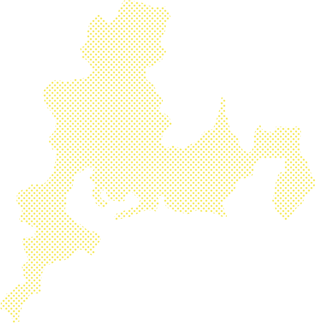 東海圏の地図
