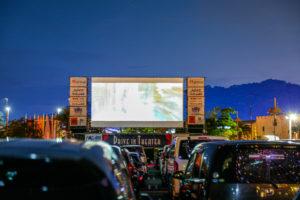 愛知県蒲郡市のラグーナテンボスにてドライブインシアターを開催いたしました。